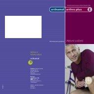 Orthomol® Arthro plus-brožůra