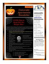 10-2011 UAS Mixed Use Newsletter.pub - UCLA - Housing