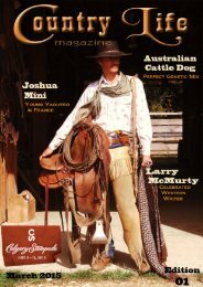 Country Life Magazine, edition 01, march 2015