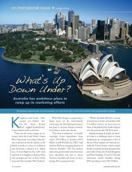 What's Up Down Under? - Leisure Group Travel