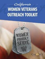 Women Veterans Outreach Toolkit