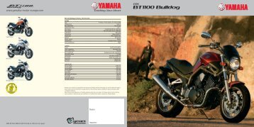 Yamaha-motor-europe - BT1100 Bulldog