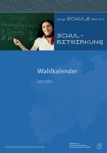 Wahlkalender 2011/2012 [pdf 460KB]