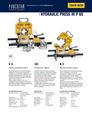 IR P 65 - powercom.ch