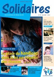 Télécharger Solidaires n°29, avril 2007 - Pep