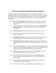 The Facts about Blue Light Effectiveness and Safety - 321BiO!