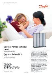 Fiche produit DHP-L / DWH - Danfoss