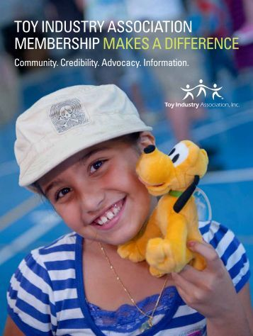 Download our Membership Brochure - Toy Industry Association