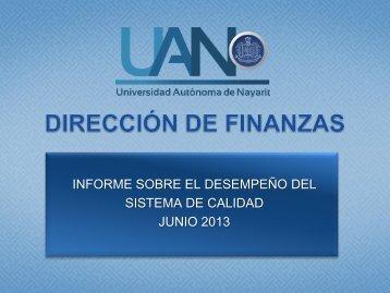 Junio 2013 - sistema administrativo de calidad - Universidad ...
