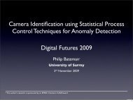 Camera Identification using Statistical Process Control Techniques ...