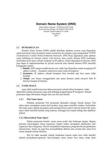 DNS1 - Teknik Elektro UGM