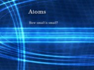 Atoms and Isotopes PowerPoint