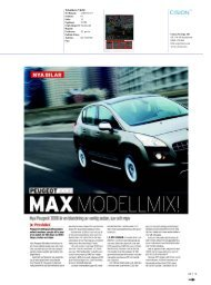 Teknikens Värld - Peugeot
