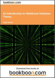 An Introduction to Relational Database Theory - bls machine