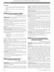 Drug information - European Journal of Hospital Pharmacy
