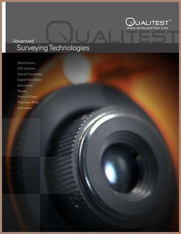 Surveying Technologies - Qualitest