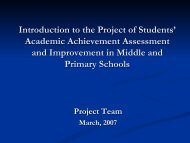 4. Present development