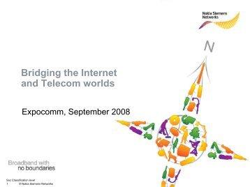 Nokia Siemens Networks PPT Template - CICOMRA