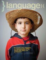 Layout 1 (Page 3) - Language Magazine