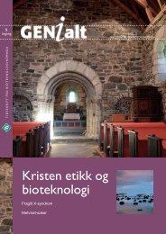 Last ned GENialt 2/2004 (pdf). - Bioteknologinemnda