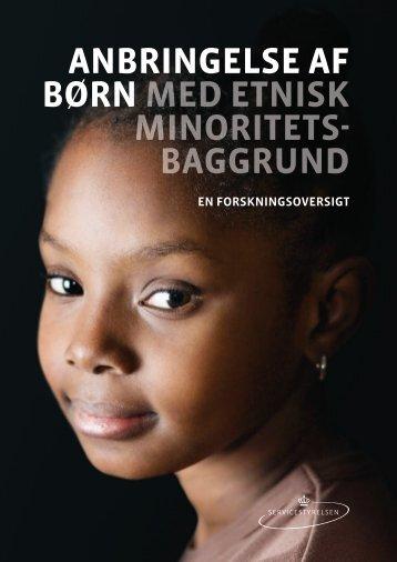 Anbringelse af børn med etnisk minoritetsbaggrund - Socialstyrelsen
