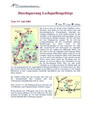 Umrundung des Watzmann Tour N7: Juni 2008