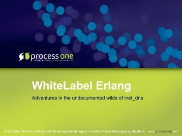 WhiteLabel Erlang - Erlang Factory