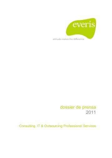 dossier de prensa 2011 - Everis