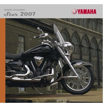 Star 2007 - Yamaha Motor Europe