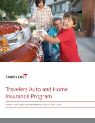 Member Group Overview - Travelers Insurance
