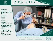 Scientific Program - Alumni Association, SMLLU