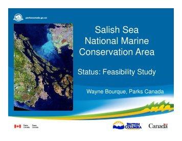 Salish Sea National Marine Conservation Area - Verney Conference ...