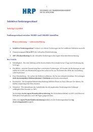 Selektiver Forderungsverkauf - Heyd, Reims & Partner GmbH & Co ...