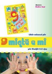 Libër mësuesi për për fëmijët 4-5 vjeç - Albas