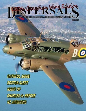 Dispersal 05/2013 - Brussels Air Museum Foundation