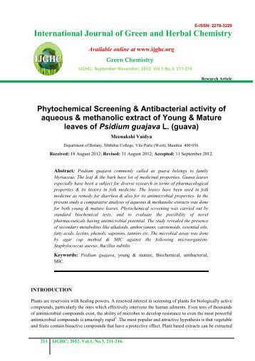 isolation and characterization of endophytic fungi from medicinal plant ...