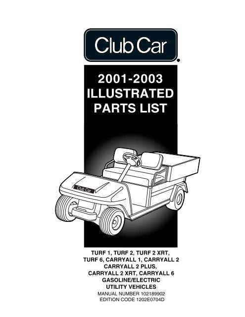 Club Car Turf Carry All 2 Wiring Diagram