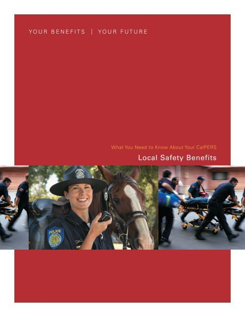 Local Safety Benefits (Pub 9) - CalPERS On-Line