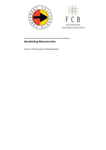 Handleiding Risicomonitor - Risico-monitor.nl