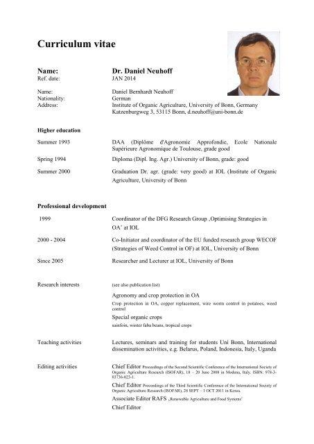 Tabellarischer Lebenslauf 2014 Imdb 2