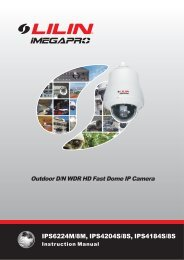 Installation guide: Lilin IPS6224M - Network Webcams
