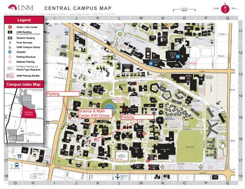 CENTRAL CAMPUS MAP - Karst Waters Institute