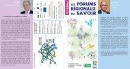 Axel KAHN Parrain des Forums régionaux du savoir Alain Le VERN ...