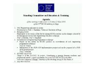Report Phase II - European Council of Civil Engineers