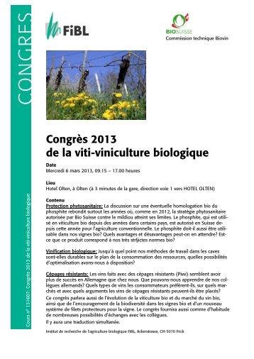 Informations détaillées - bioactualites.ch