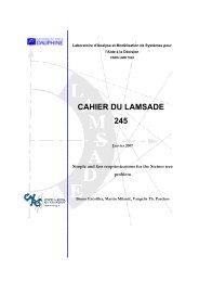 CAHIER DU LAMSADE 245 - HAL