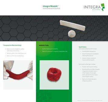 Mozaik Brochure - Lindare Medical