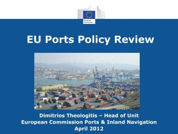 EU Ports Policy Review - Hanse Office