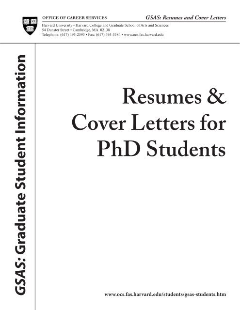 Phd biochemistry resume