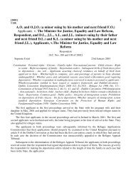 Applicants v. The Minister for Justice, Equality ... - EUDO Citizenship